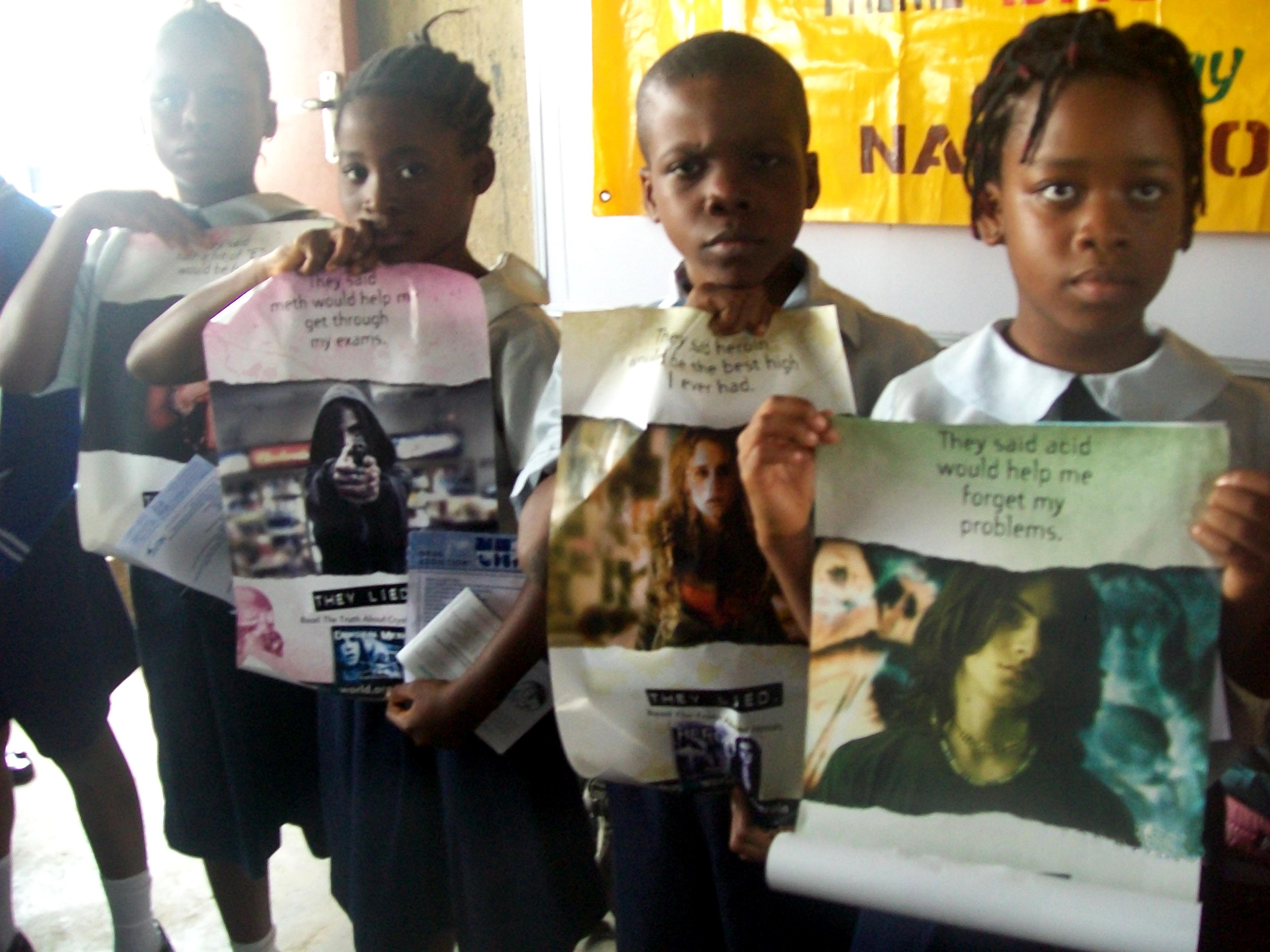 Bambini narconon Nigeria