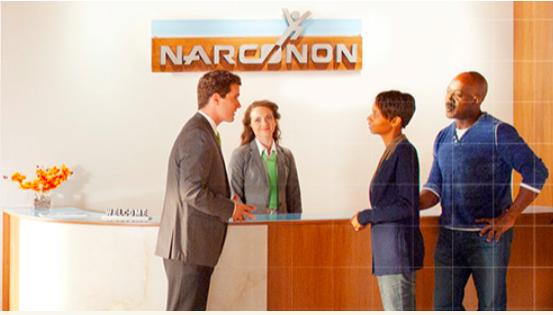 Arrivo al centro Narconon