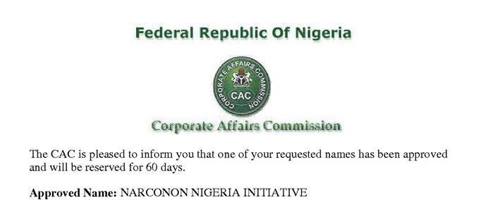 Registrazione-CAC-Nigeria-approved-name-