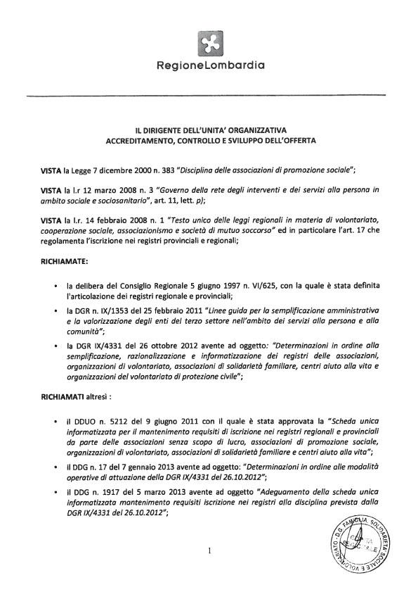 Narconon Sud Europa Riconoscimento Regionale pag.2