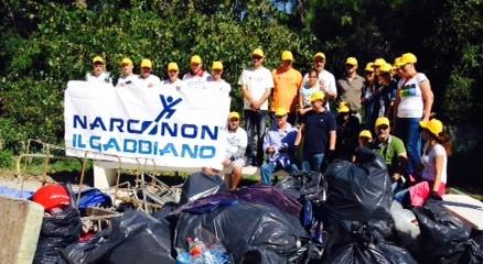 Centro Narconon Il Gabbiano, puliamo il mondo!