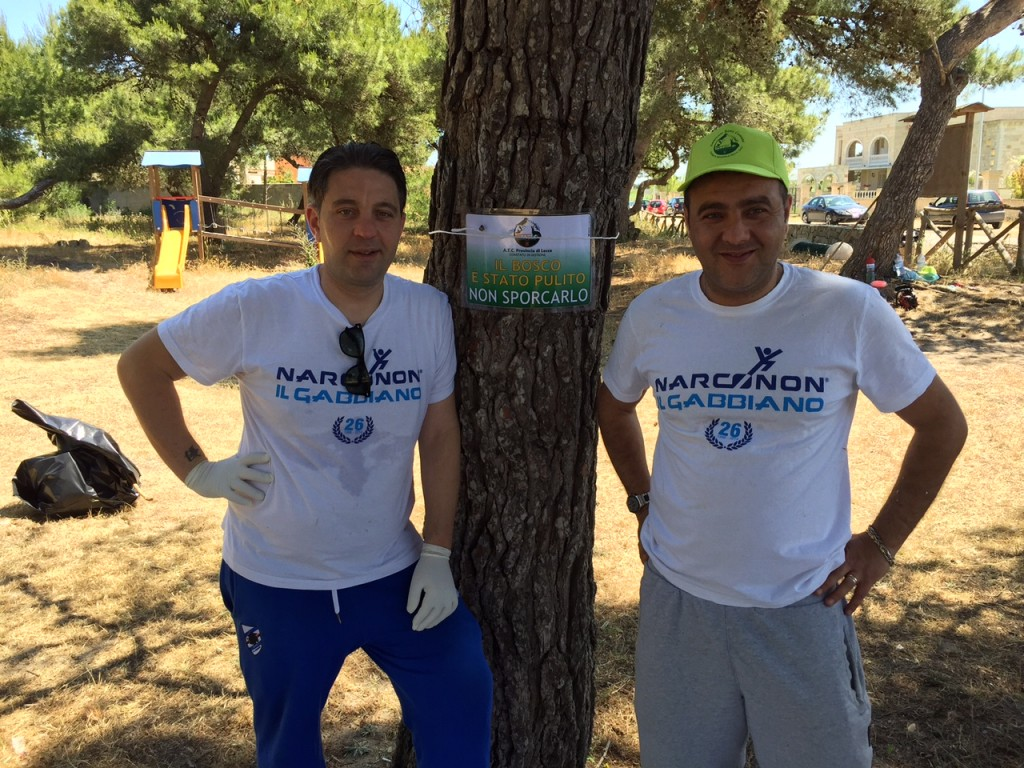 """Volontari Narconon per """"Ambiente Bene Comune"""""""