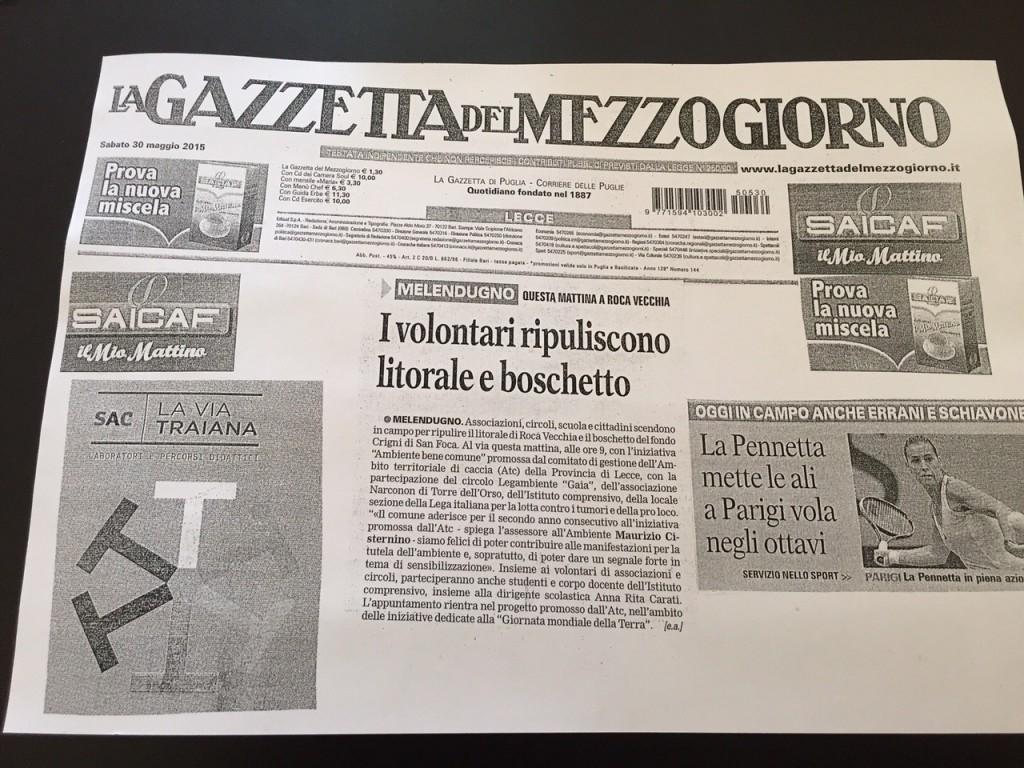 La Gazzetta del Mezzogiorno Narconon Gabbiano