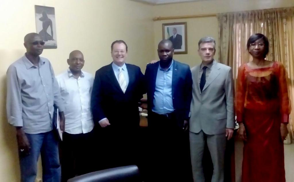 Narconon Sud Europa in visita in Senegal
