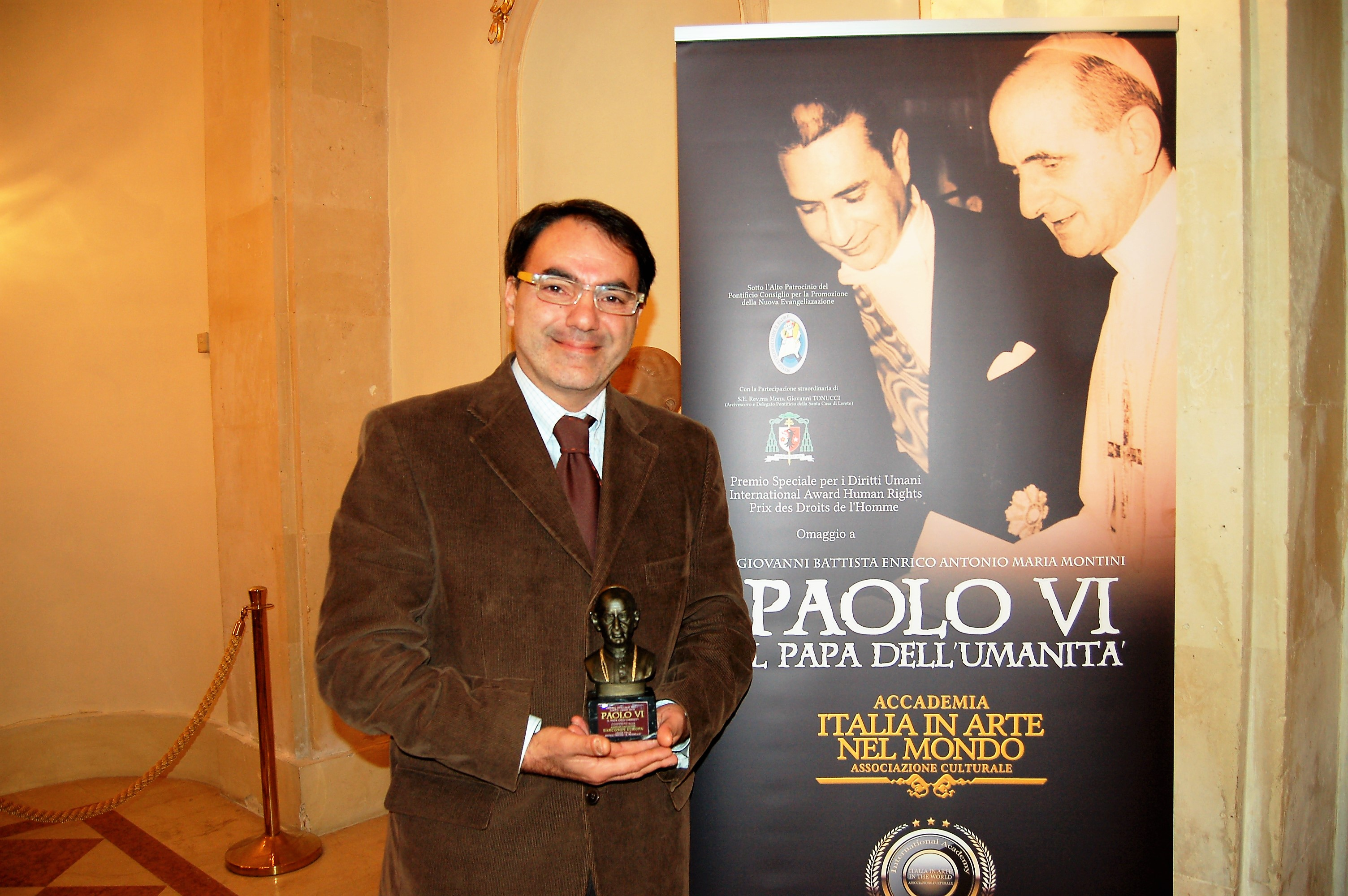 Narconon Sud Europa Premio per i Diritti Umani