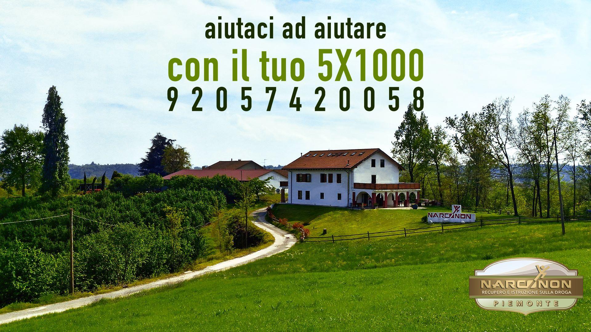 Centro Narconon Piemonte dona il 5x1000