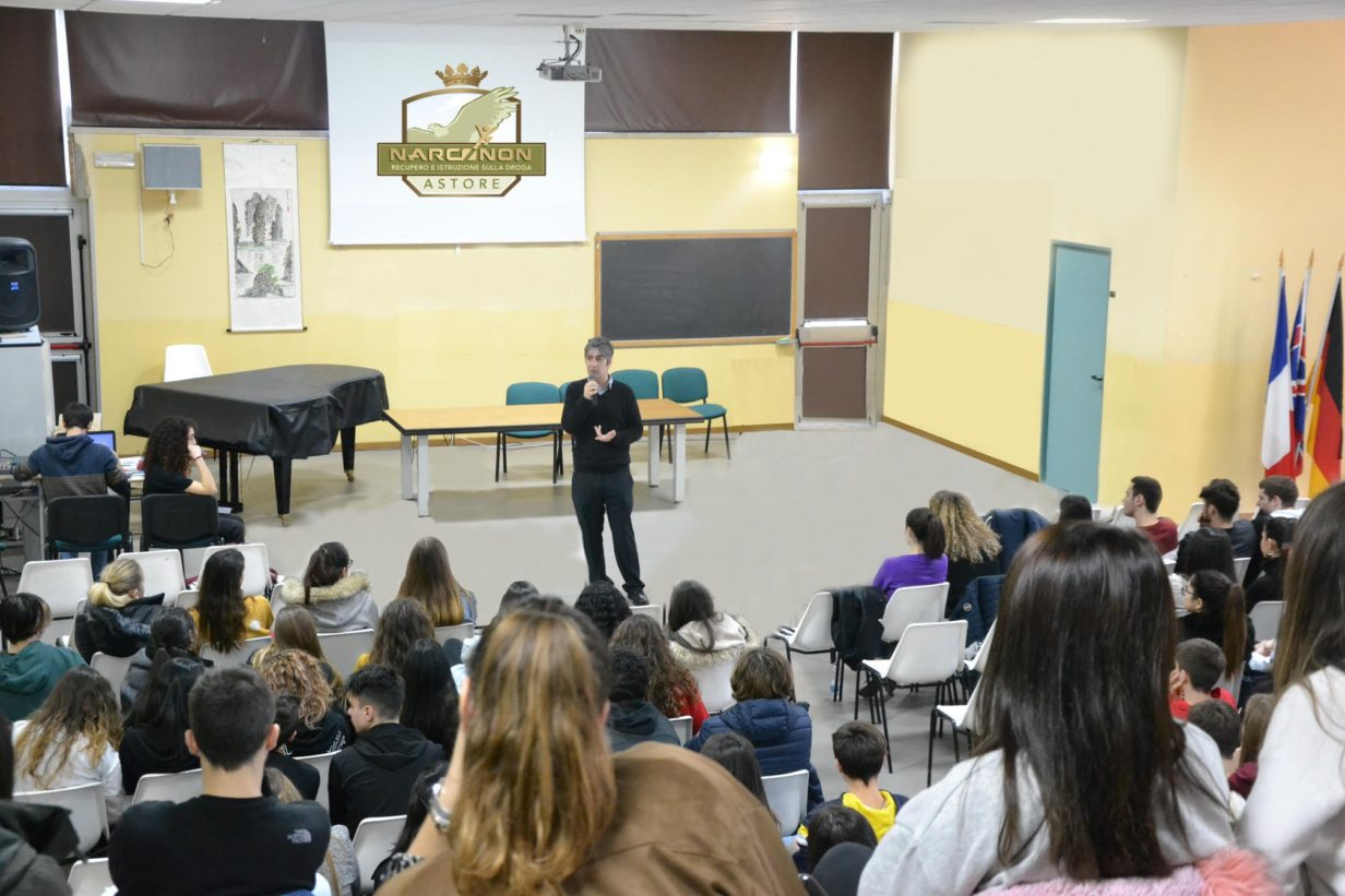 Centro Narconon Astore - prevenzione nelle scuole