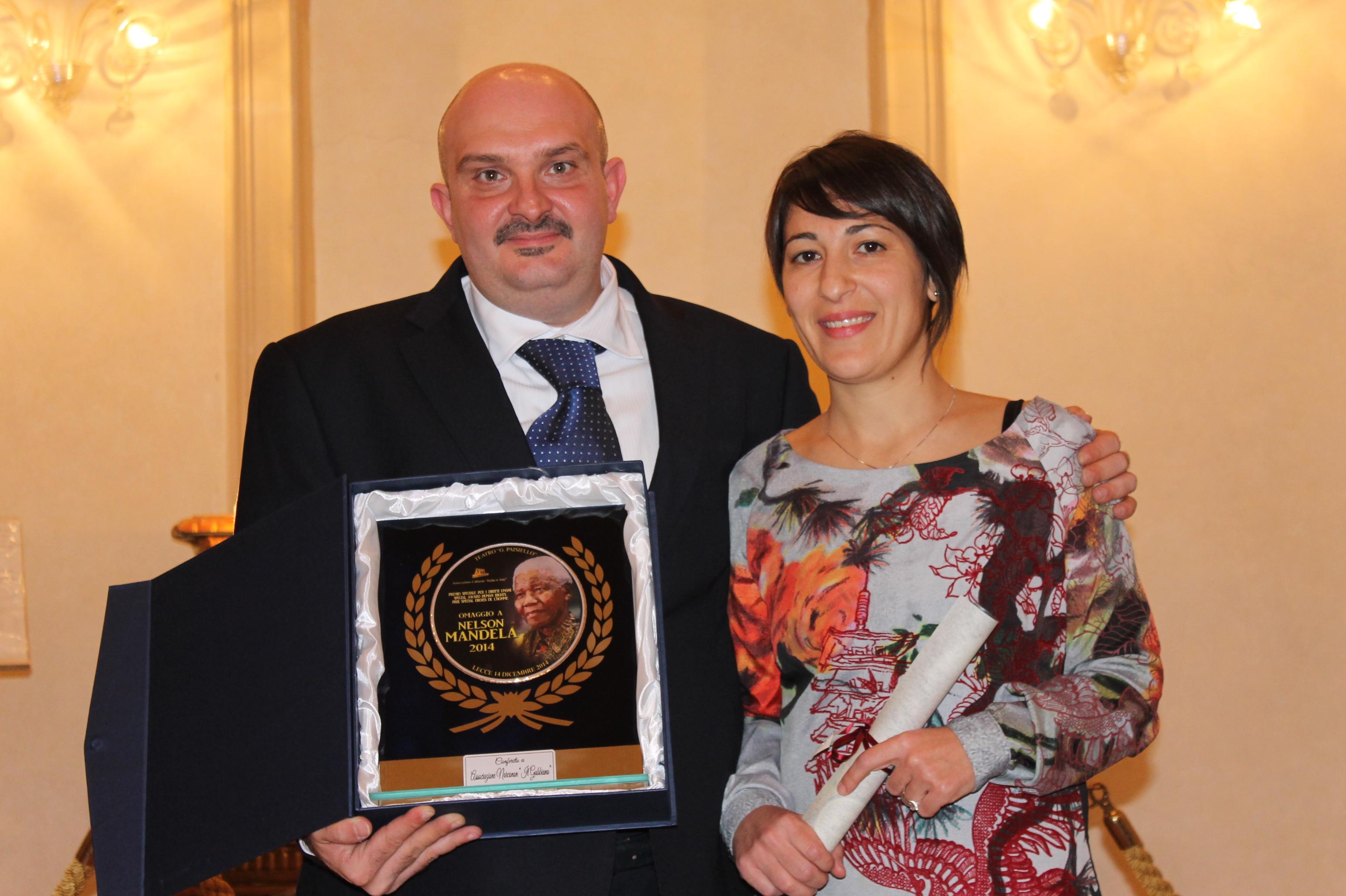 Premio Diritti Umani Narconon Gabbiano